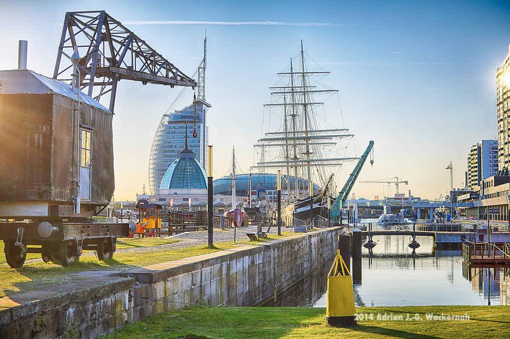 Fotografie Bremerhaven Alter Hafen 1 © 2014 Adrian J.-G. Wackernah - 000057