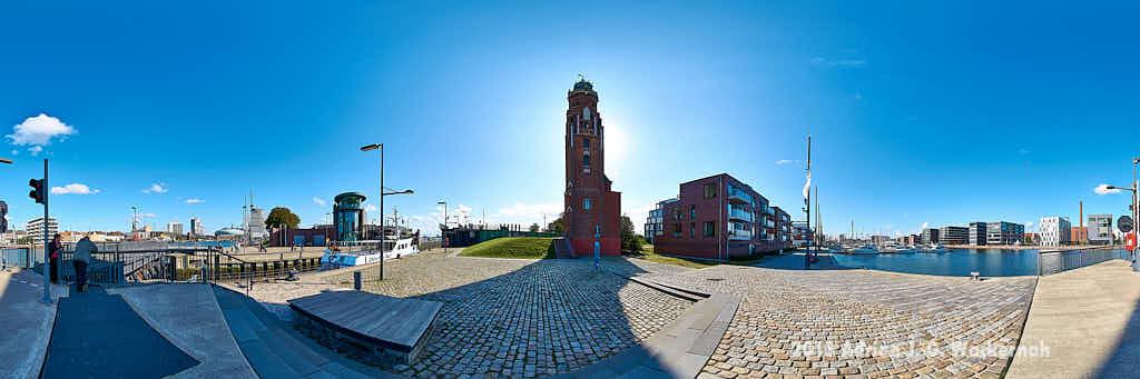 Fotografie Bremerhaven Alter Leuchtturm © 2015 Adrian J.-G. Wackernah