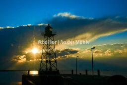Fotografie Bremerhaven Grüner Leuchtturm Geestemole © 2015 Ilona Weinhold-Wackernah - 000047