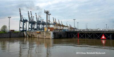Fotografie Bremerhaven Nordschleuse Vorhafen © 2015 Ilona Weinhold-Wackernah - 000046