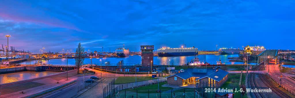 Fotografie Bremerhaven Osthafen © 2014 Adrian J.-G. Wackernah - 000533