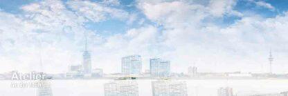 Bremerhaven Skyline double © 2016 Adrian J.-G. Wackernah - 000669