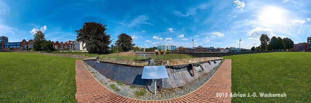 Produktbild Bremerhaven Wencke-Dock © 2015 Adrian J.-G. Wackernah - 000473
