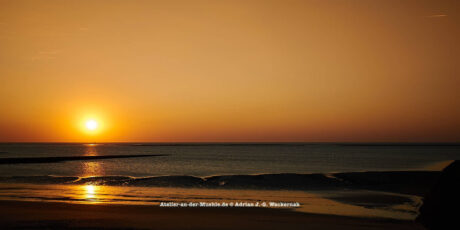 Baltrum Sonnenuntergang © 2016 Adrian J.-G. Wackernah - 000731