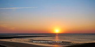 Baltrum Sonnenuntergang © 2016 Adrian J.-G. Wackernah - 000732