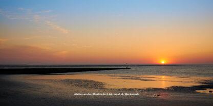 Baltrum Sonnenuntergang © 2016 Adrian J.-G. Wackernah - 000733