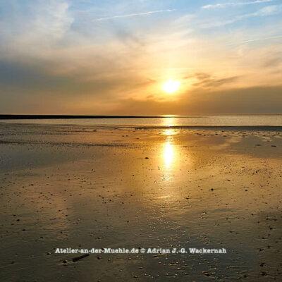 Baltrum Sonnenuntergang © 2016 Adrian J.-G. Wackernah - 000735