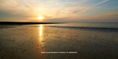 Baltrum Sonnenuntergang © 2016 Adrian J.-G. Wackernah - 000736