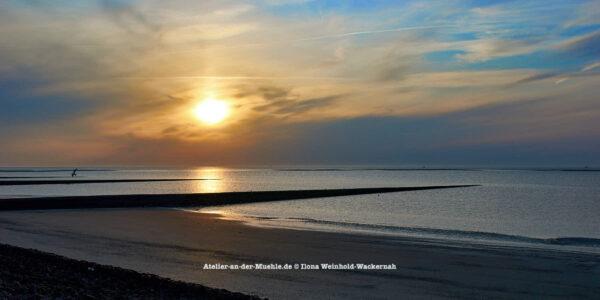 Baltrum Sonnenuntergang © 2016 Ilona Weinhold-Wackernah - 000737