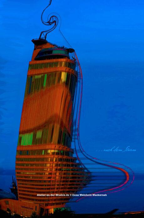 Verzerrtes … nach dem Sturm © 2012 Ilona Weinhold-Wackernah - 000782