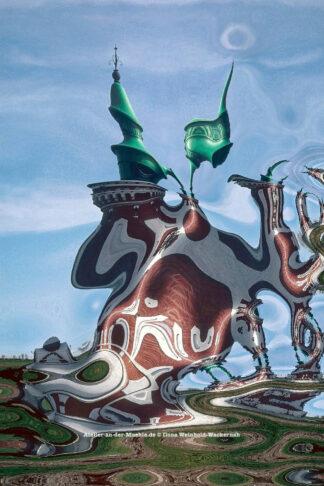 Verzerrtes Bremerhaven Pingelturm © 2003 Ilona Weinhold-Wackernah - 000391