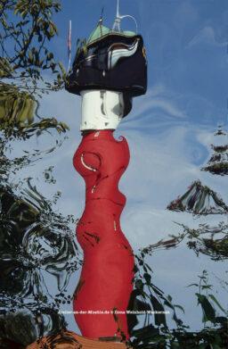 Verzerrtes Leuchtturm Wangerooge © 2006 Ilona Weinhold-Wackernah - 000786