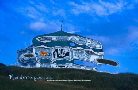 Verzerrtes Norderney «Marienhöhe« © 2003 Ilona Weinhold-Wackernah - 000789