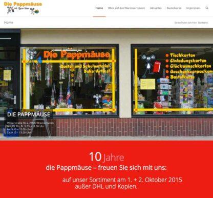 Homepage Sigrun Toben https://die-pappmaeuse.de