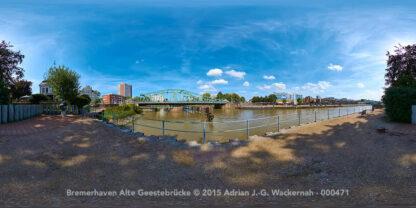 Bremerhaven Alte Geestebrücke © 2015 Adrian J.-G. Wackernah - 000471