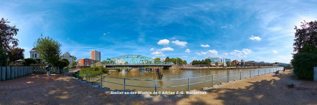 Produktbild Bremerhaven Alte Geestebrücke © 2015 Adrian J.-G. Wackernah - 000471