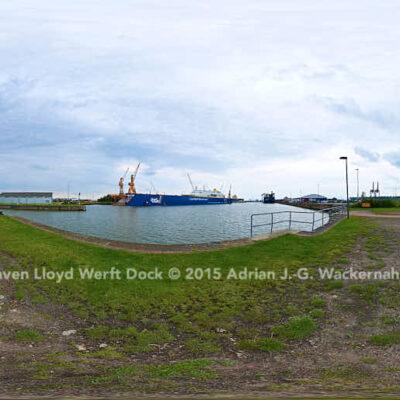 Bremerhaven Lloyd Werft Dock © 2015 Adrian J.-G. Wackernah
