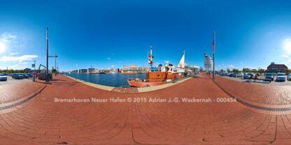 Bremerhaven Neuer Hafen © 2015 Adrian J.-G. Wackernah