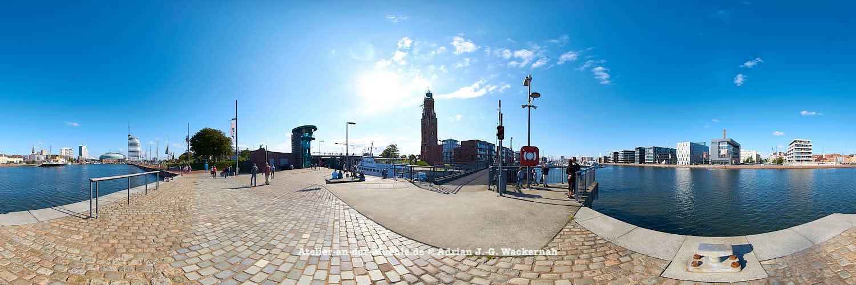 Bremerhaven Schleuse Neuer Hafen © 2015 Adrian J.-G. Wackernah - 000456