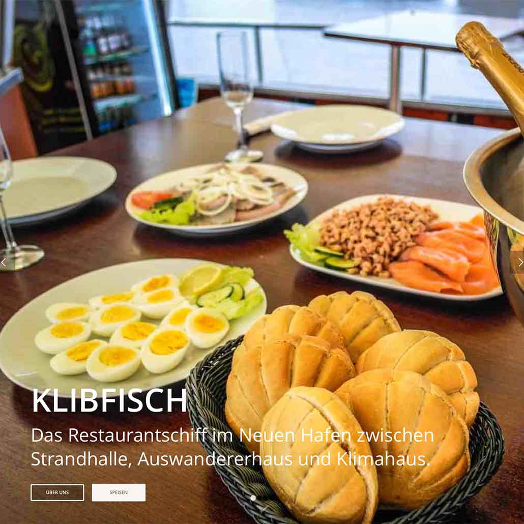 Homepage Roger Klibisch https://klibfisch.de