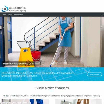 Homepage Nordsee Gebäudereinigung https://nordsee-gebaeudereinigung.de