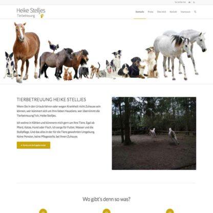 Homepage Heike Stelljes https://heikestelljes.de