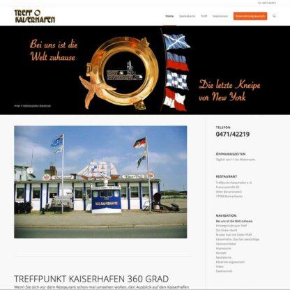Homepage Treffpunkt Kaiserhafen https://treffpunktkaiserhafen.de
