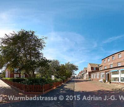 Juist Friesenstrasse - Warmbadstrasse © 2015 Adrian J.-G. Wackernah - 000483