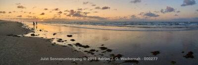 Juist Sonnenuntergang © 2015 Adrian J.-G. Wackernah - 000277