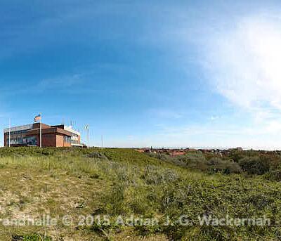 Juist Strandhalle © 2015 Adrian J.-G. Wackernah - 000487