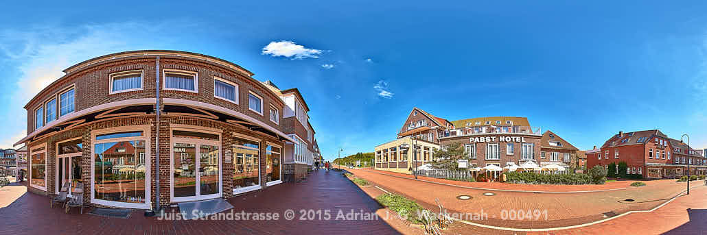 Juist Strandstrasse © 2015 Adrian J.-G. Wackernah - 000491