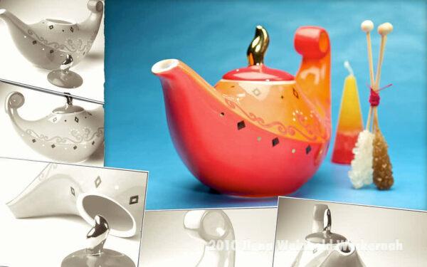 Fotografie Teekomposition Aladin © 2010 Ilona Weinhold-Wackernah