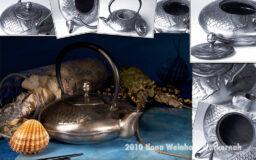 Fotografie Teekomposition Fisch und Muscheln © 2010 Ilona Weinhold-Wackernah