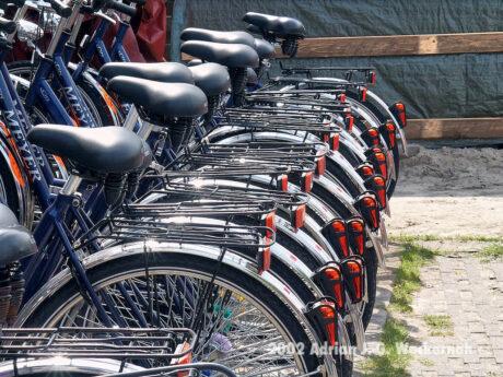 Fotografie Wangerooge Fahrräder © 2002 Adrian J.-G. Wackernah