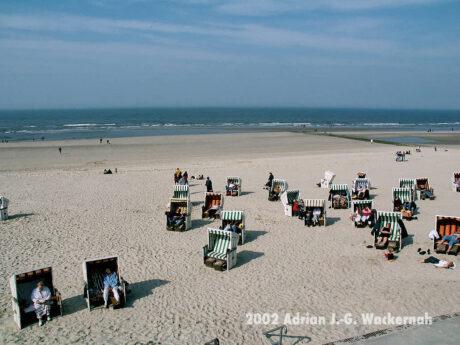 Fotografie Wangerooge Strand © 2002 Adrian J.-G. Wackernah