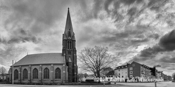 Fotografie Bremerhaven Christuskirche Geestemünde © 2018 Adrian J.-G. Wackernah