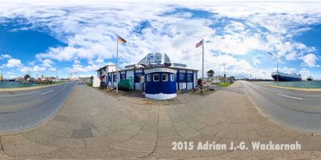 Virtuelles Panorama Bremerhaven Die letzte Kneipe vor New York © 2015 Adrian J.-G. Wackernah