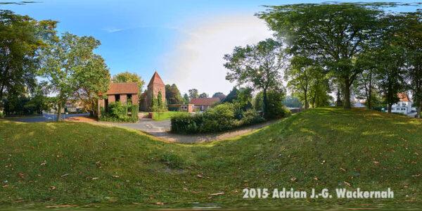 Fotografie Bremerhaven Wulsdorfer Kirche © 2015 Adrian J.-G. Wackernah - 000888