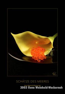 Postkarte Kunst Haute Cuisine © 2003 Ilona Weinhold-Wackernah