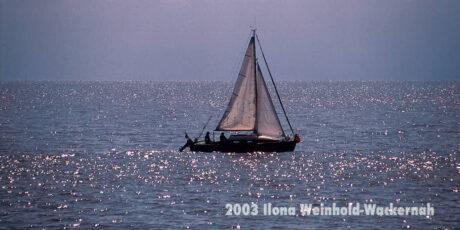 Fotografie Norderney Segelboot © 2003 Ilona Weinhold-Wackernah