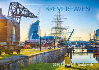 Postkarte Bremerhaven Alter Hafen 1 © 2014 Adrian J.-G. Wackernah