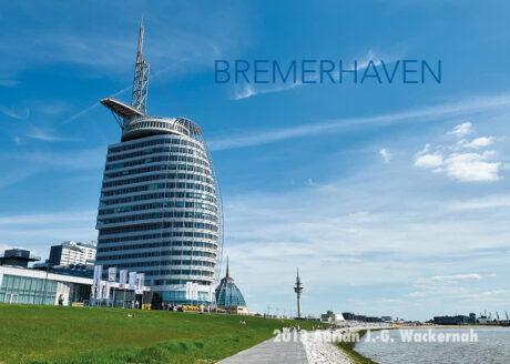 Postkarte Bremerhaven Hotel am Deich © 2013 Adrian J.-G. Wackernah