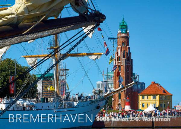 Postkarte Bremerhaven Postkarte Lütte Sail © 2008 Adrian J.-G. Wackernah