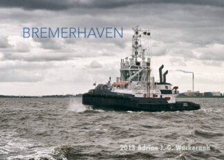 Postkarte Bremerhaven Schlepper GEESTE © 2013 Adrian J.-G. Wackernah