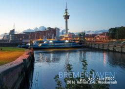 Postkarte Bremerhaven Weserfähre 3 © 2016 Adrian J.-G. Wackernah