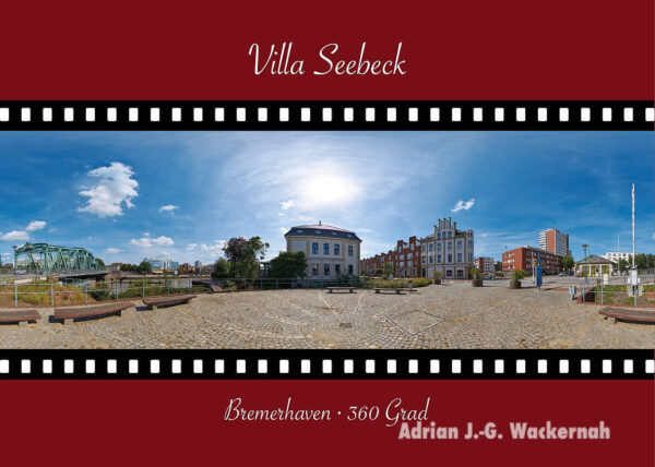 Postkarte Bremerhaven Villa Seebeck © 2015 Adrian J.-G. Wackernah