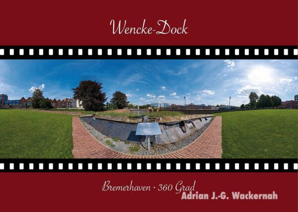 Postkarte Bremerhaven Wencke-Dock © 2015 Adrian J.-G. Wackernah