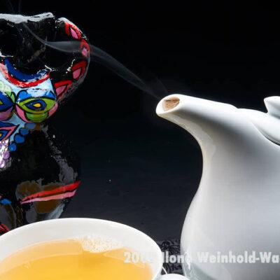 Fotografie Tee-Genuss Blanc mit Nana 2 © 2009 Ilona Weinhold-Wackernah