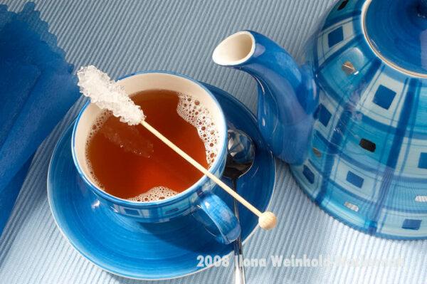 Fotografie Tee-Genuss Blau pur © 2008 Ilona Weinhold-Wackernah