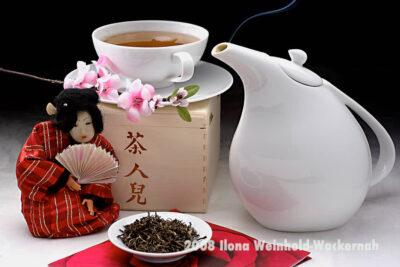 Fotografie Tee-Genuss China blanc 2 © 2008 Ilona Weinhold-Wackernah